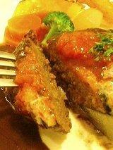 ポモドーロ 和牛ハンバーグステーキ(1100円)