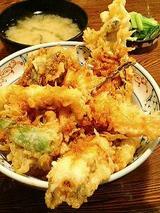 上天丼(1200円)