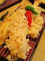 大海老穴子定食(1700円+追加大海老750円)