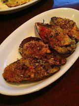 バーカロ バカージョ ムール貝の香草パン粉焼き(420円)