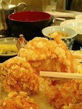 月ヶ瀬 唐揚げ定食(700円)