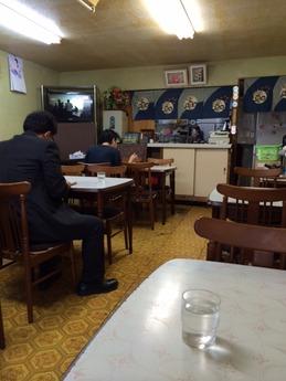 きやす食堂 店内