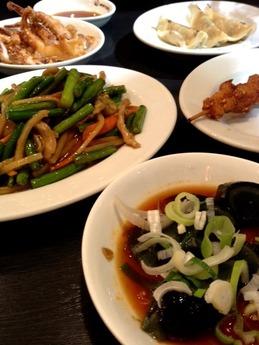 西安刀削麺  餃子