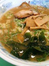 漢方万楽麺(並)450円(ラーメン)