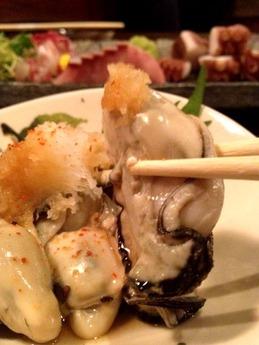 居酒屋 遊膳 牡蠣