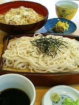 九十九蕎麦 せいろと親子丼 1100円