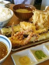 天ぷらまきの まきの定食 890円