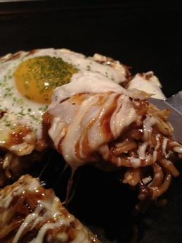 喃風市原ユニモ店 半熟卵のチーズモダン