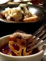 ハミングバード2000 大和芋と温野菜の和風サラダ 580円