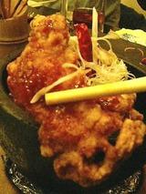 茶蘭 若鶏の唐揚げ480円
