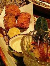 広島牡蠣のフライ