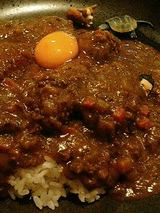 クリームコロッケカレー+カキフライ+玉子