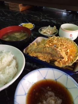 長野 天麩羅定食 600円 (1)