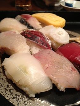 旬門 寿司盛り