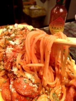 くうのむ  スパゲッティ