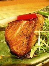 まぐろのほほ肉の炙り(塩)780円