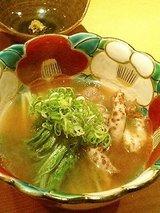 四季彩粋 かの子と水菜サッと煮(1200円)