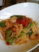 ボルカノ トマト風味スパゲティ(1350円)