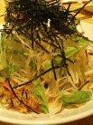 大根・水菜・牛蒡のパリパリサラダ