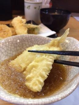 はちまき 天ぷら定食(竹)1000円 (2)