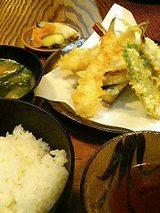 たなか 天麩羅定食(850円)