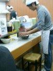 宇野製麺所 カウンター席