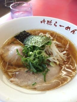 内橋ラーメン らーめん 600円