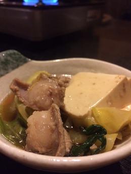 一番鶏 もつ鍋 (4)