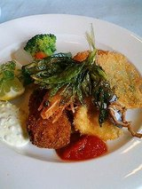 洋食Meets 鮮魚のミックスフライタルタルソース添え