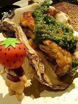 岩牡蠣のソテー!