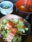 サラダ・お味噌汁・お漬物