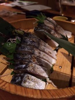 魚民土気店 鯖