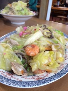 大空食堂 皿うどん (1)