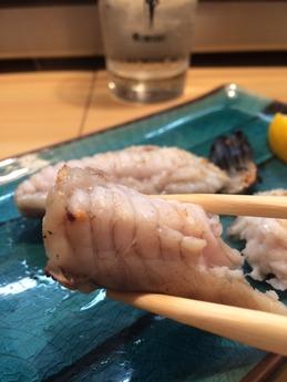 柳すし 刺身と焼魚 (2)