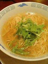 チャイナビストロ常村 葱風味汁そば(700円)