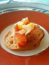菊水 前菜サーモンのマリネ