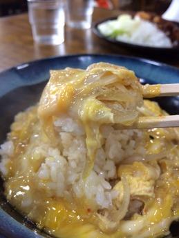 丸万本店 玉子丼 (2)