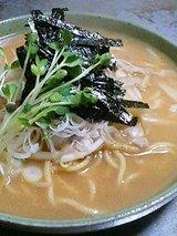かんばら こってりスープ焼そば(660円)