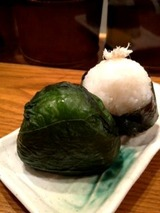 おむすび村 広島菜巻と塩さば