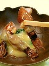 ホタルイカの辛子味噌