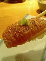 鮨 海馬 とろ炙り(600円)