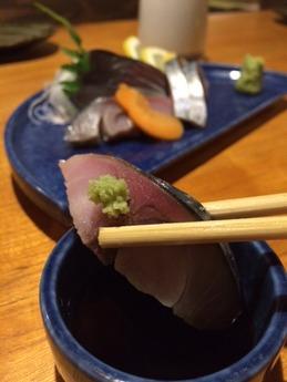 百太郎飾磨 締め鯖 (2)
