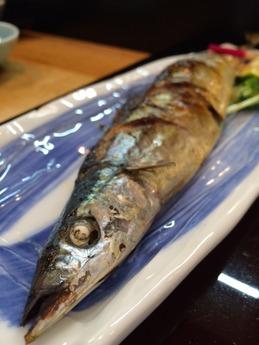 津 嬉すし 秋刀魚 (1)