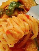 モッチリィノ たっぷり野菜のトマトバジルソース