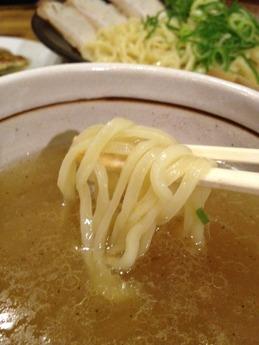 天馬らーめん  赤穂塩つけ麺 750円
