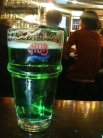限定のグリーンビール