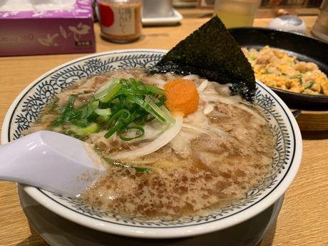 丸源ラーメンアマドゥ (2)