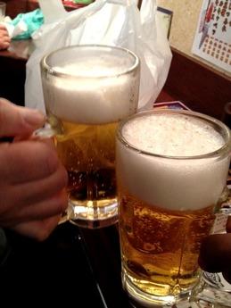 よかたいマイング店 生ビール