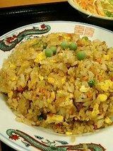 中華料理 九龍 ラーメン定食(750円)炒飯