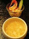 本日のスペシャルスープ&サラダ